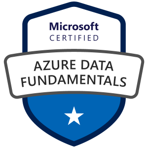 Azure Data Fundamentals certification